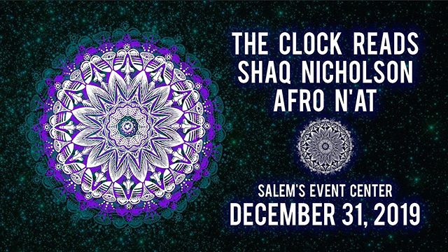 NYE is announced! Ready to get back to Salem's and get down on the late night. This year our homies @shaqnicholsonsound and @afro_n_at will be there too! Tix on sale now - $28 for all night and open bar! Get it. Thanks @jamburgh! #NYE