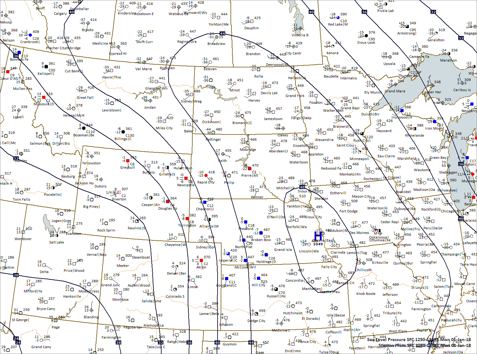Data plotted by Digital Atmosphere - Software available at www.weathergraphics.com