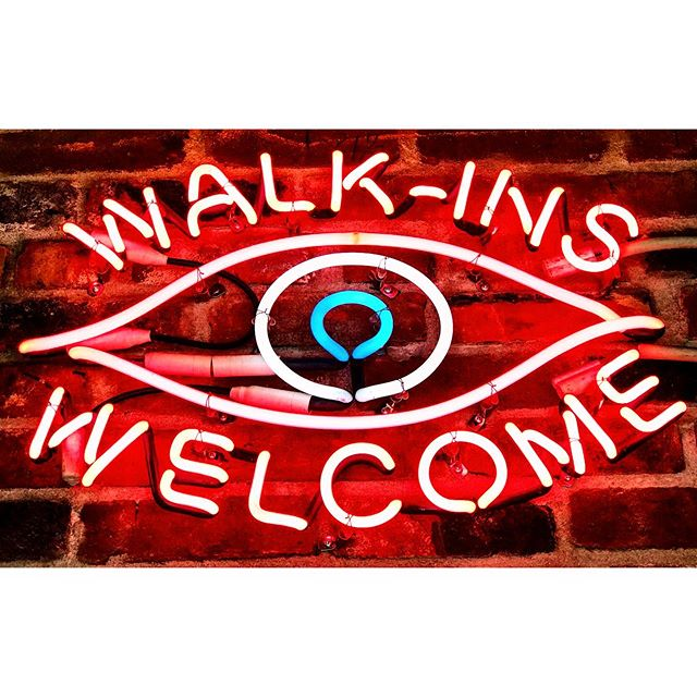 @luckyfortunetattoo: Walk-ins Welcome. 👁 . . . . . . #neonsigns #neoninspiration #neon #walkinswelcome #tattooparlor #tatoos #vintagesign #eye #eyeball #sign #instaneon #signlove #signage #neonsignage #downtownvictoria #signgeeks #signgeek #signporn #neonlights #neonsignage #neonlove #neonlover #luckyfortunetattoo #neonart #neonartist #neonporn