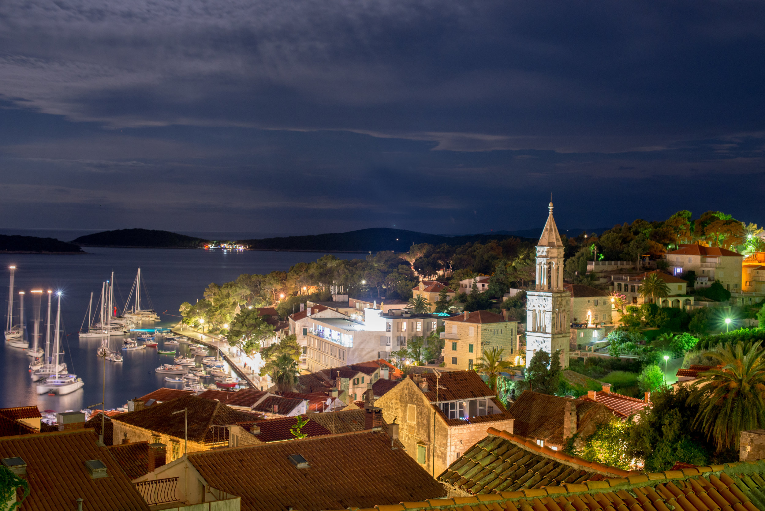Hvar, Croatia by Night