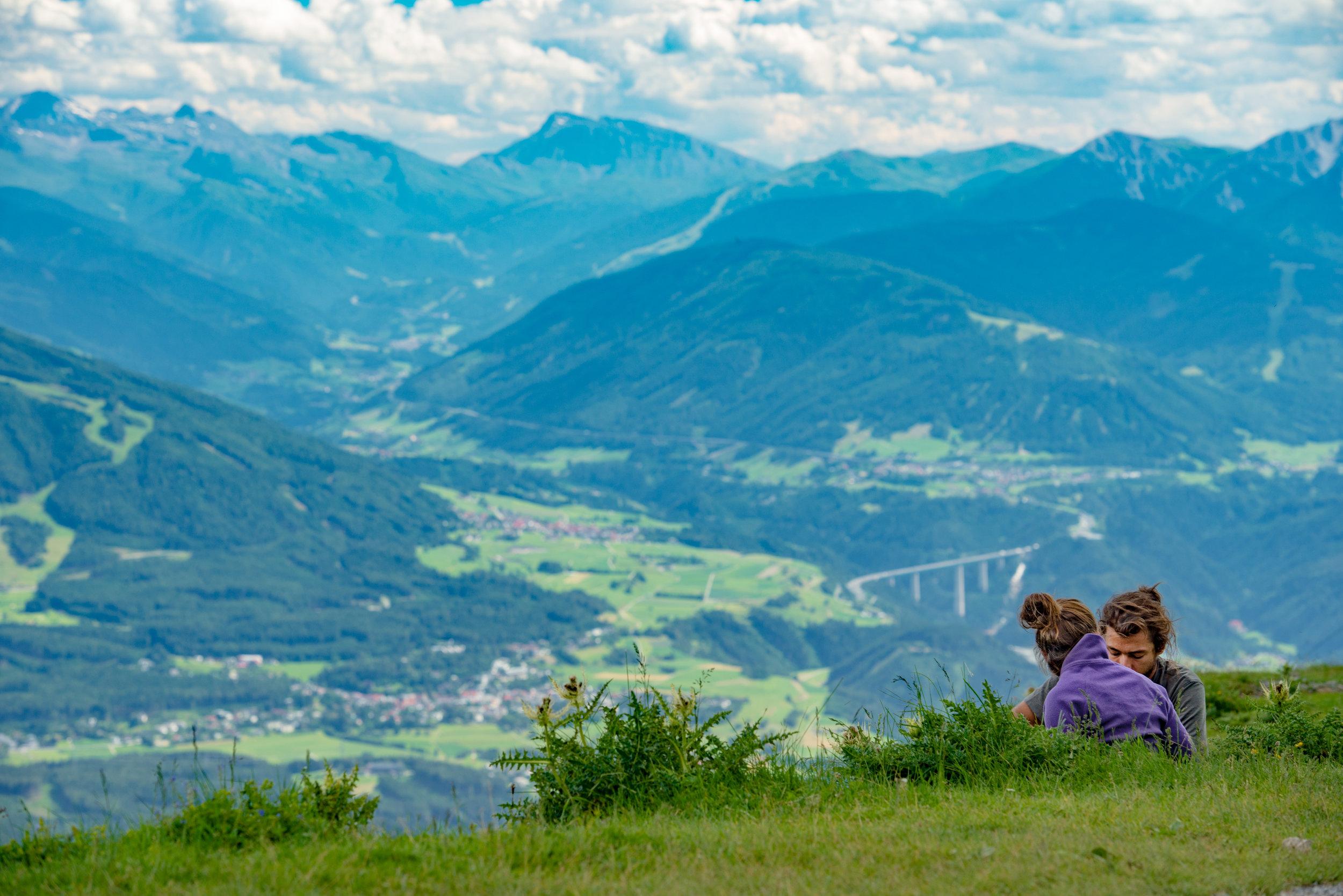 Nordkette in Innsbruck, Austria