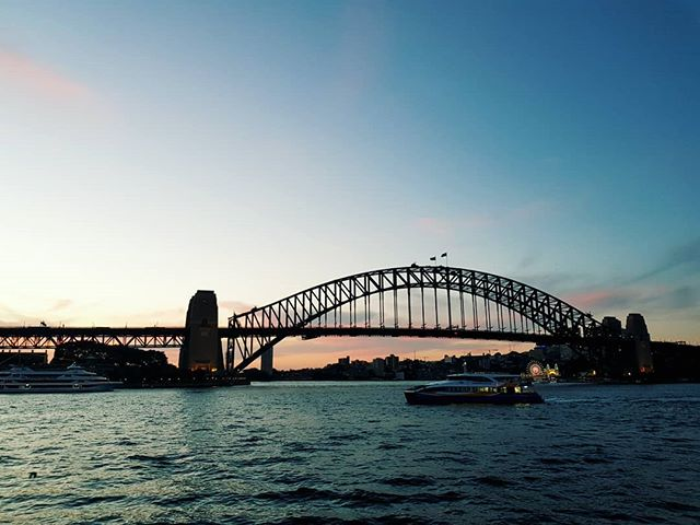 Clear skies tonight for sunset, Sydney finally delivering #seeaustralia