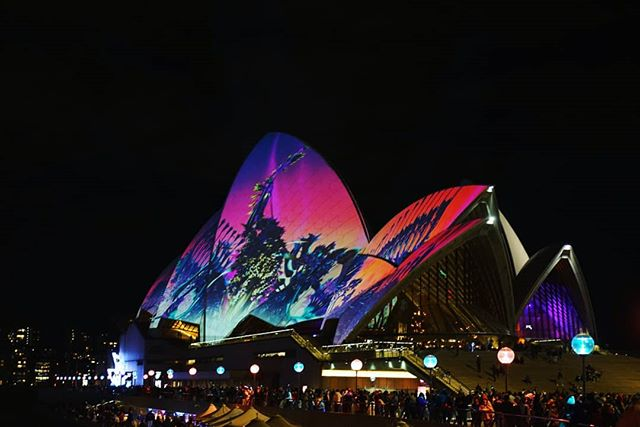 Vivid has sparked something within me that I've lost for a while. I want to explore and create again. Thank you Vivid Sydney #vividsydney