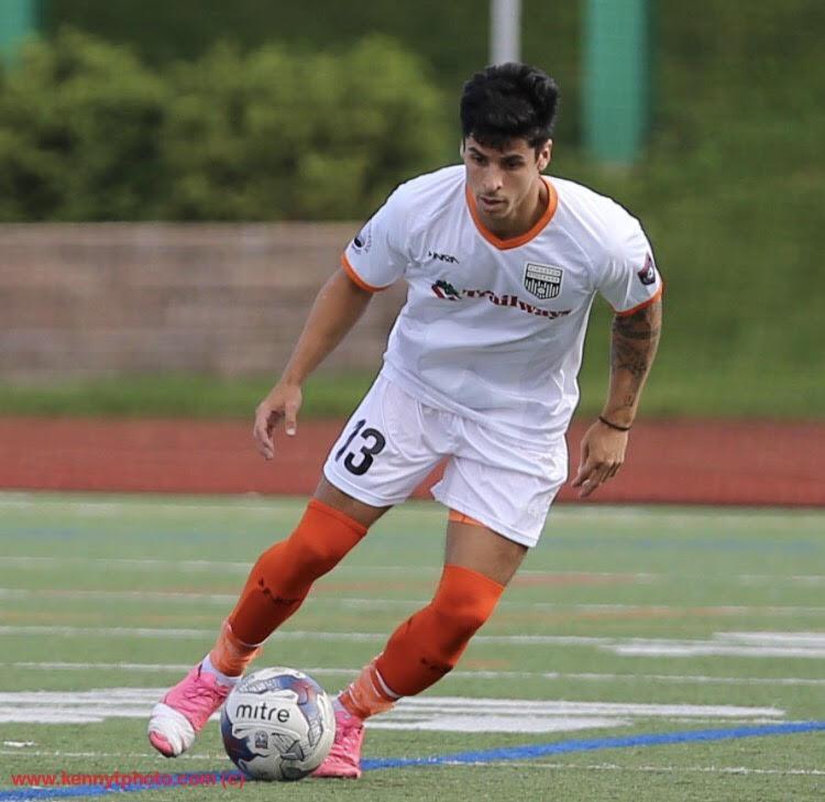 Pedro Espindola scored twice in Stockade FC's win on Saturday. (Photo by kennytphoto.com)