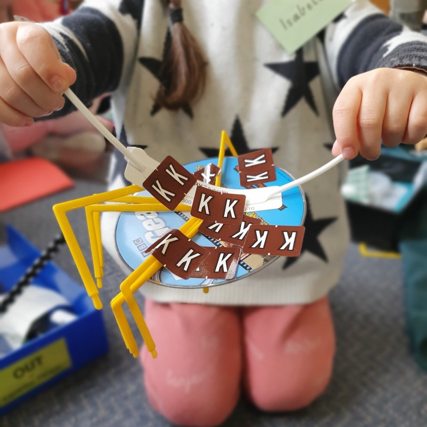Kindergarten incursions include an 'upcycling' challenge for children to creatively explore ways to make new items from old.