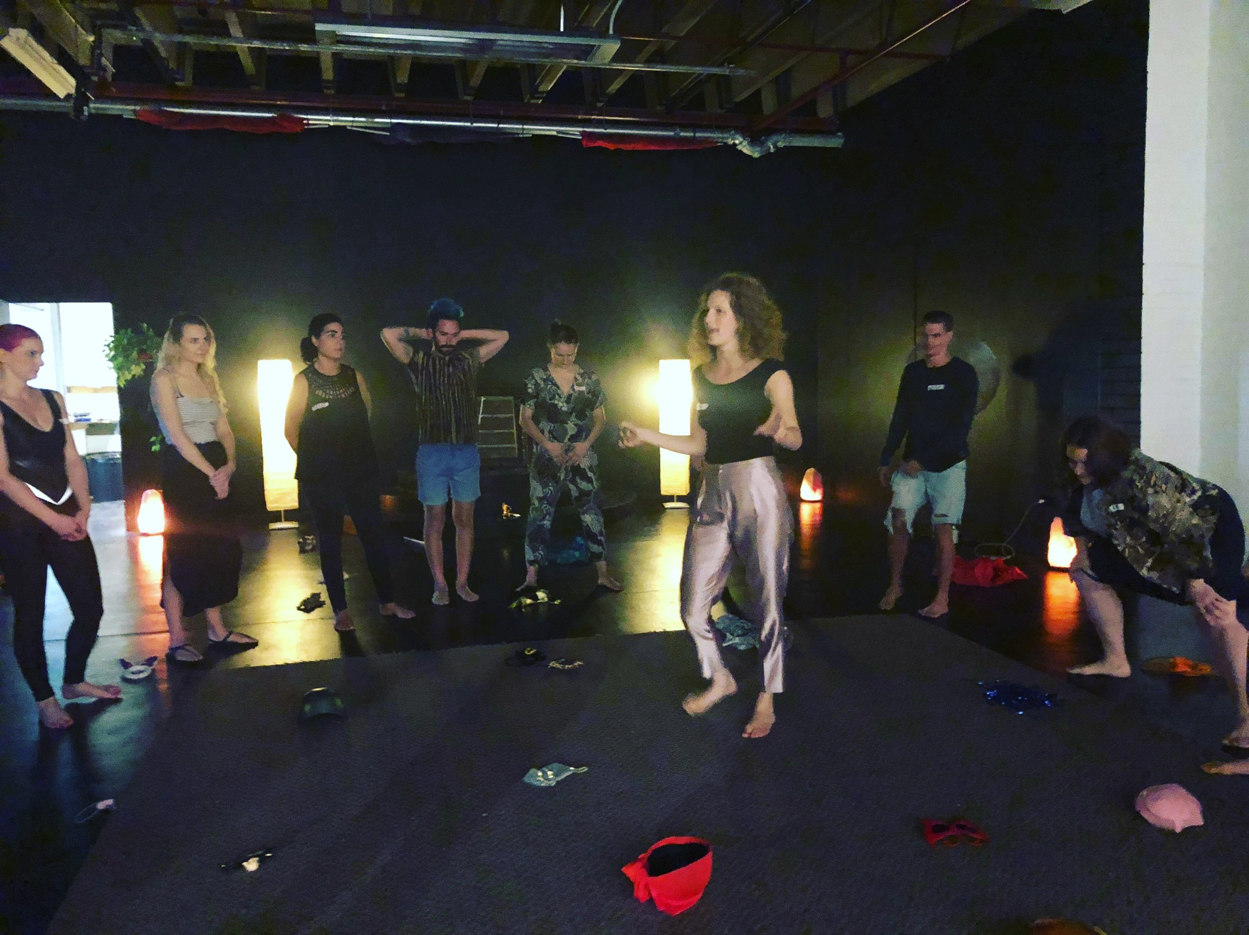 WEEKLY WORKSHOPS - Attend workshops with Tali and Em in which we focus on a different voice each week. Through improvisation exercises, free movement and guided meditations you will start to uncover the belief systems that contribute to each voice.