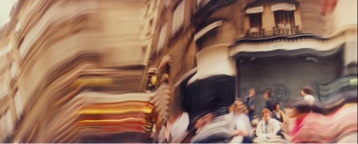 John Chamberlain in Paris  © 2018 Fairweather & Fairweather LTD/Artists Rights Society (ARS), New York