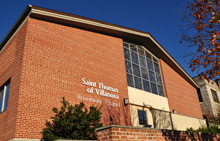 The Parish auditorium is located at 1229 East Lancaster Avenue, Rosemont, PA  19010