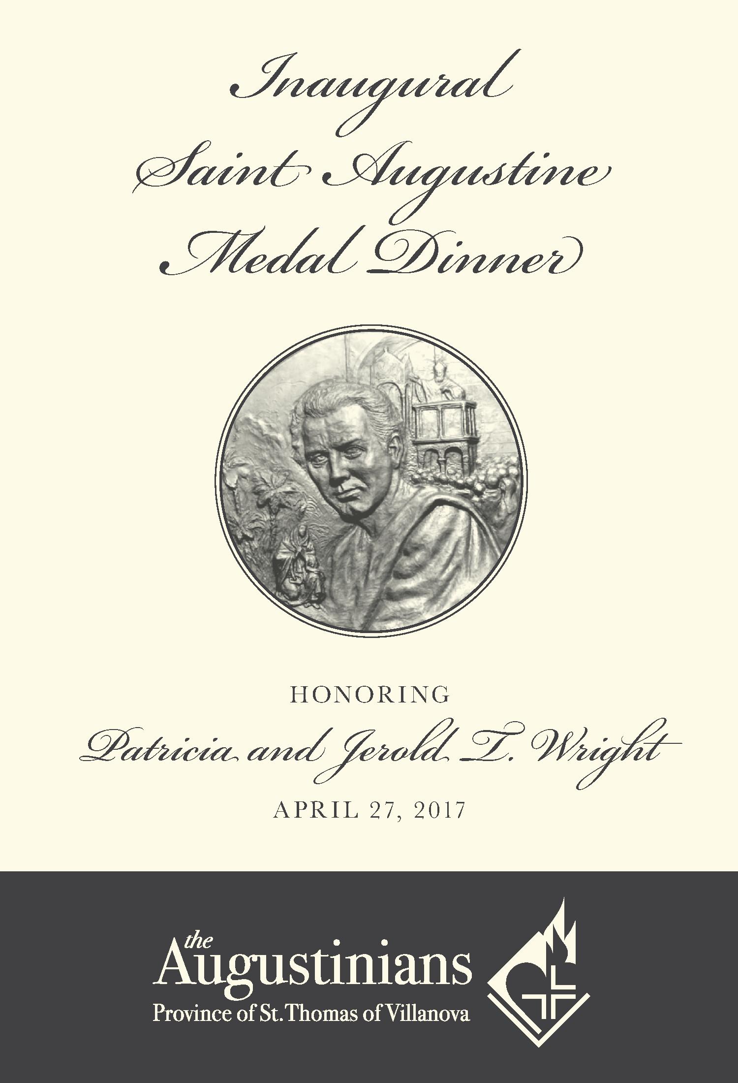 2017 Saint Augustine Medal Dinner