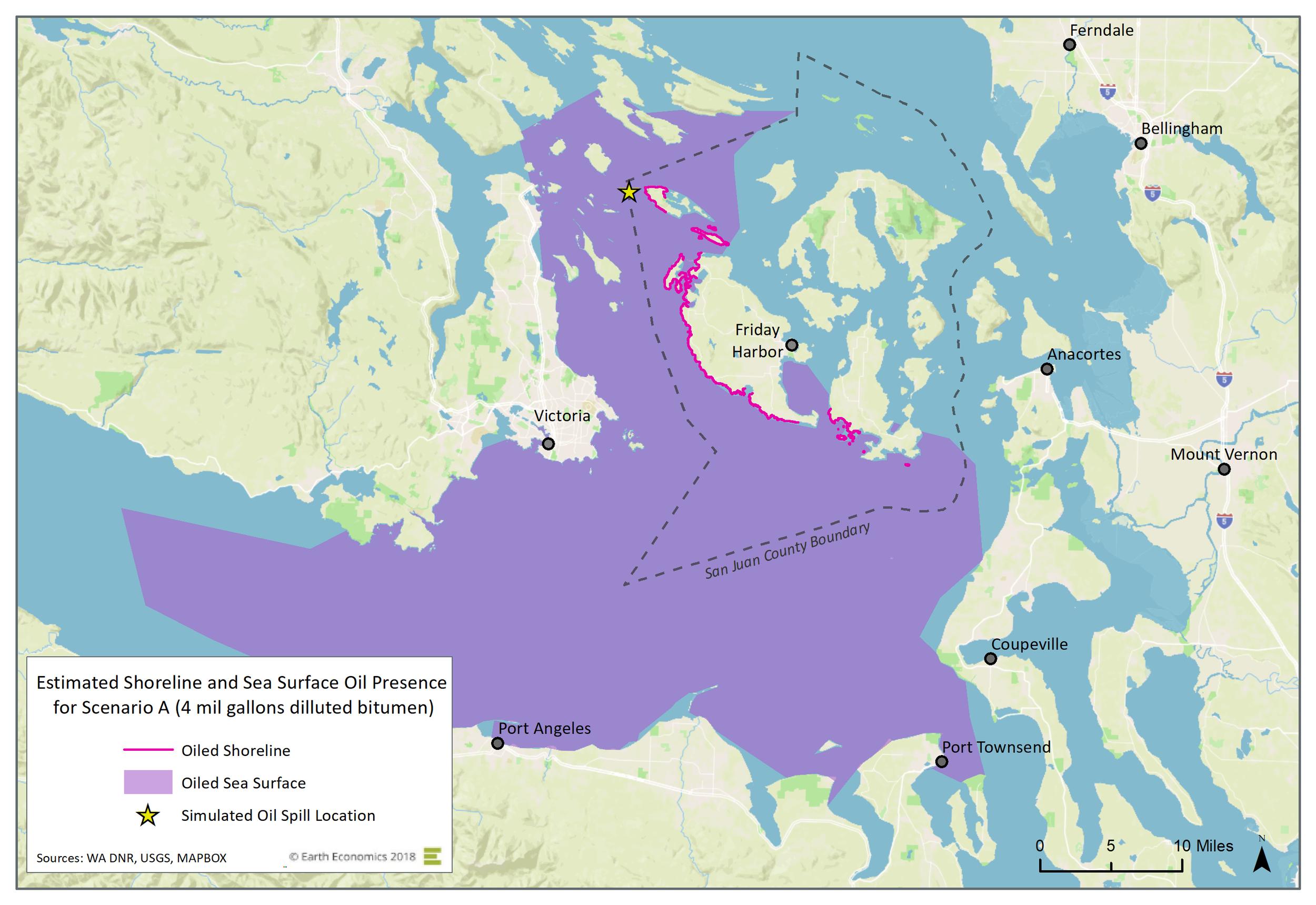 Map: Scenario A  Click to Enlarge