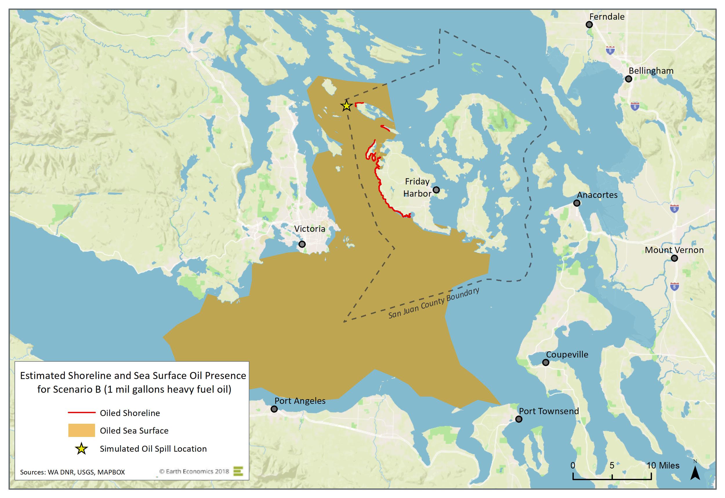 Map: Scenario B  Click to Enlarge