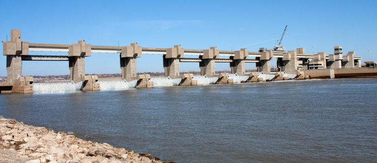 Melvin Price Lock and Dam | Mississippi River