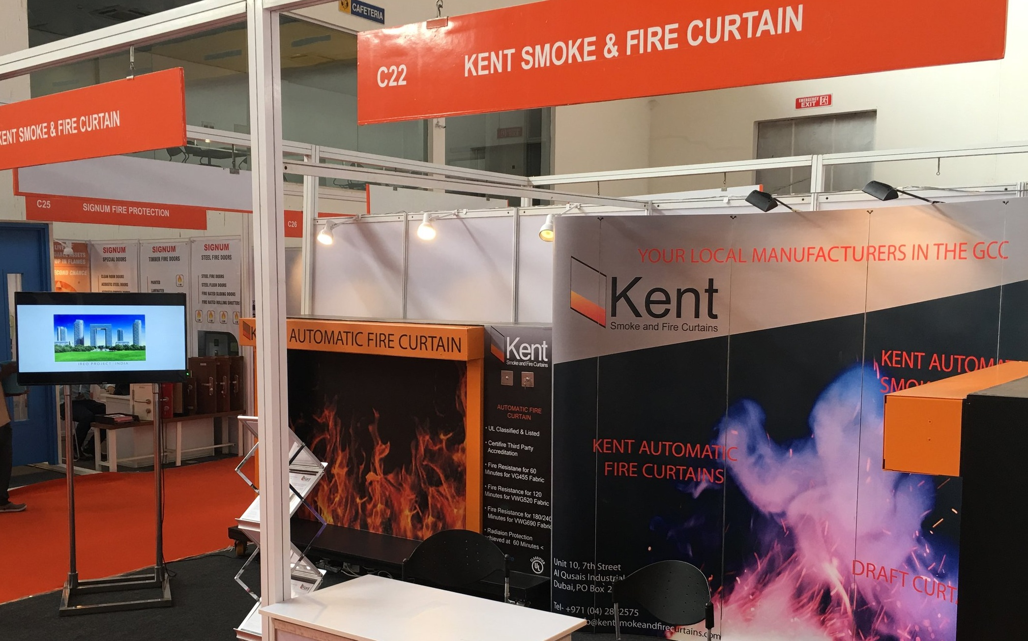 Kent Stand at Fire India 2018