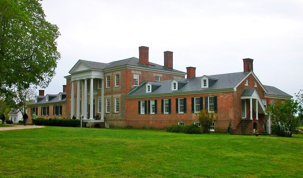 Front view of Sabine Hall