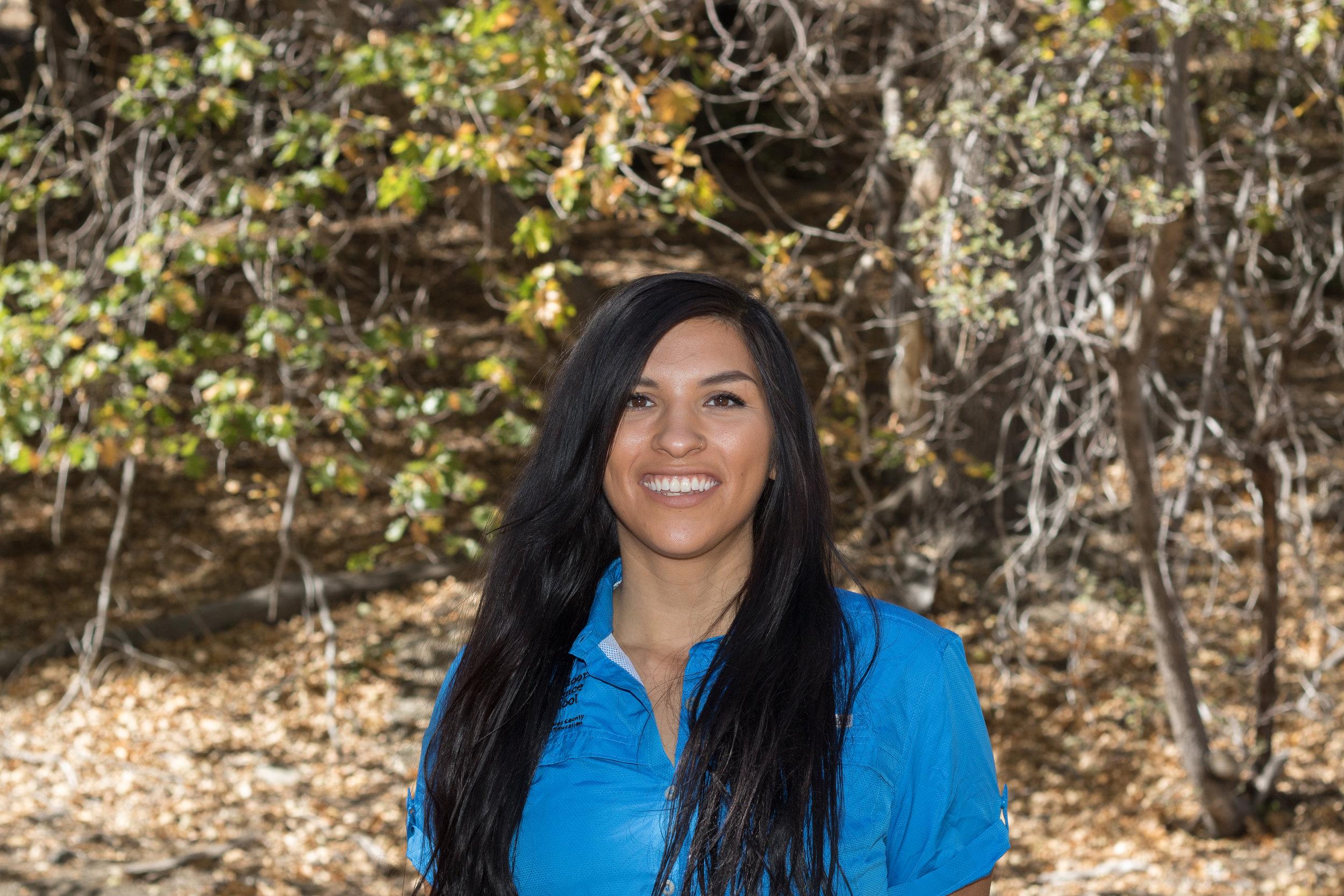 Bridget manjarrez, Naturalist Instructor
