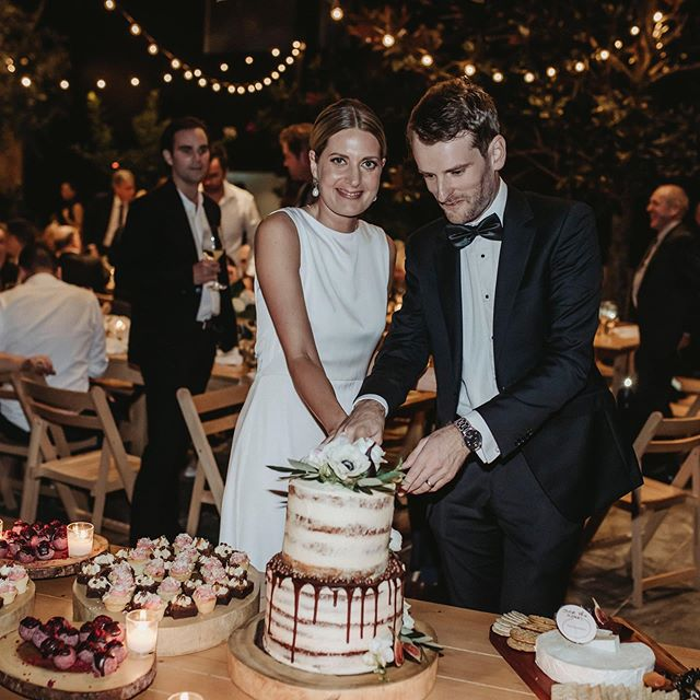 """Tom and Alex Kelway - one of our all time favourites 💕 thank you for your lovely words: """"You did the most phenomenal job (as I knew you would)!! We had so many comments on the food and some real foodies telling us it was the best wedding food they had ever had! We are so impressed with what an incredible business you have built and feel very lucky that you could be part of our big day."""" 📸 @lucyliphotography"""
