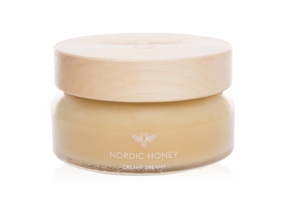 Nordic Honey_mahemesi Creamy Dreamy_kinkemesi puidust kaanega_ärikingitused jõuludeks