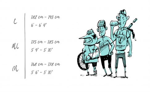Frame Size Guide -