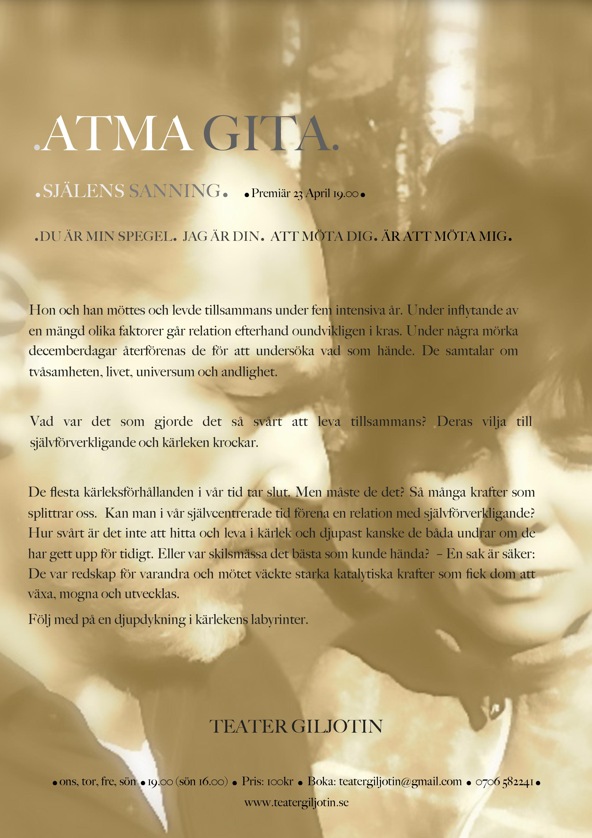 Atma Gita affisch