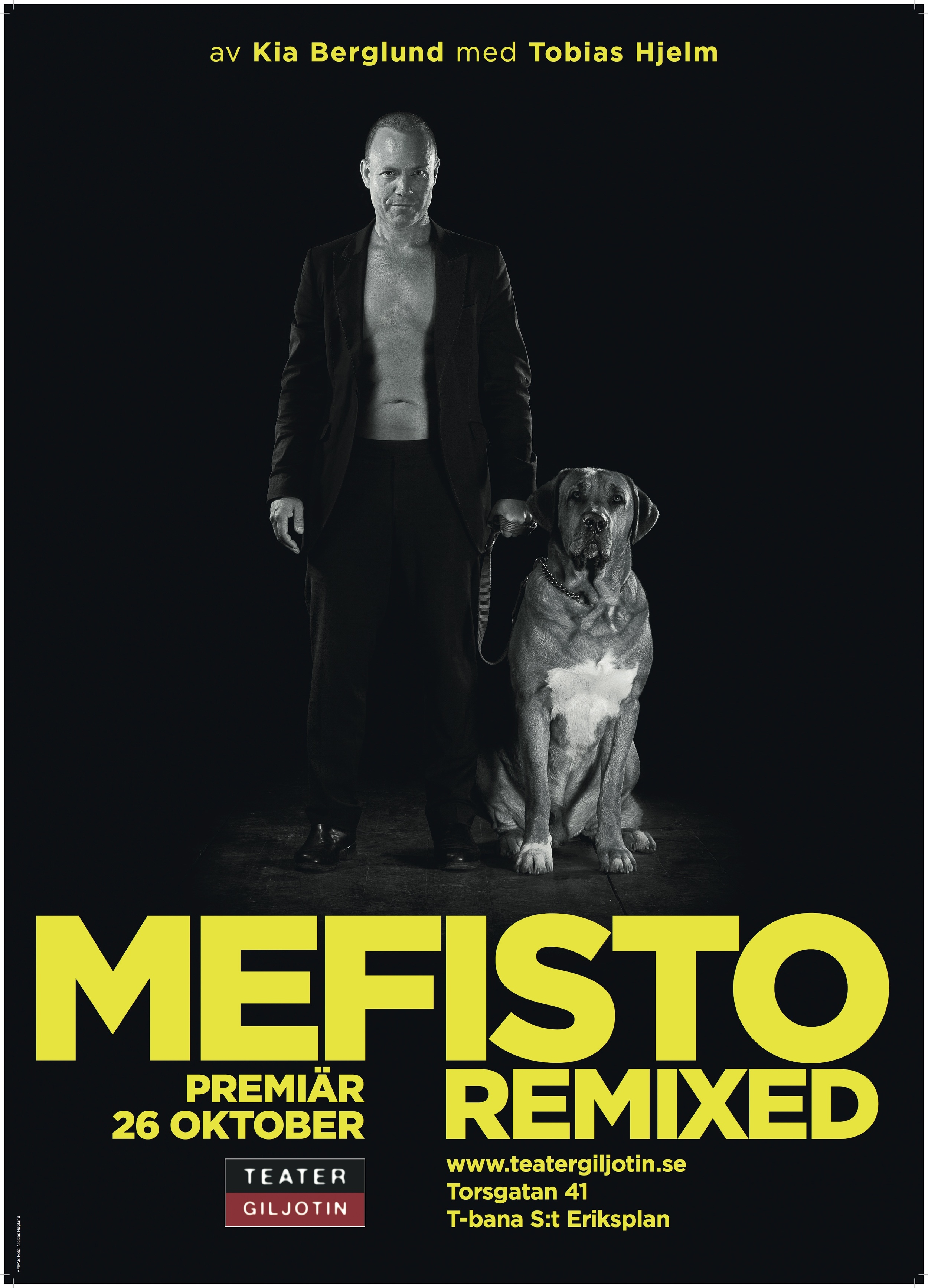 Mefisto Remixed Affisch