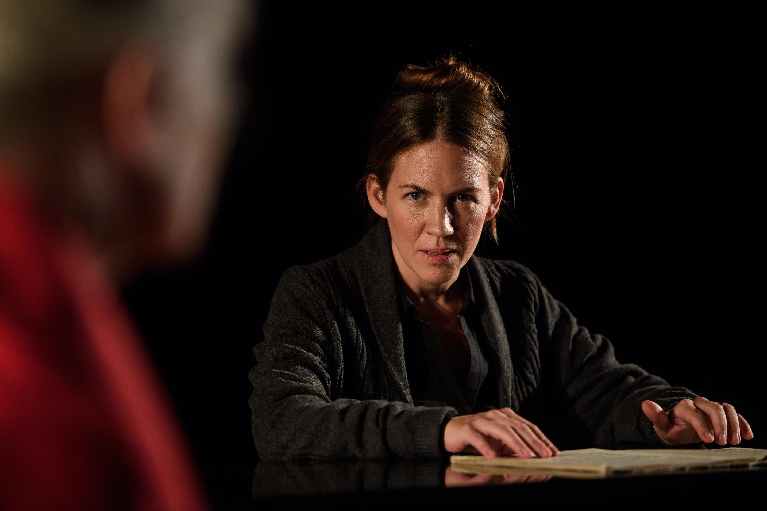 Julia Marko-Nord som Eva. Foto: Martin Hellström.