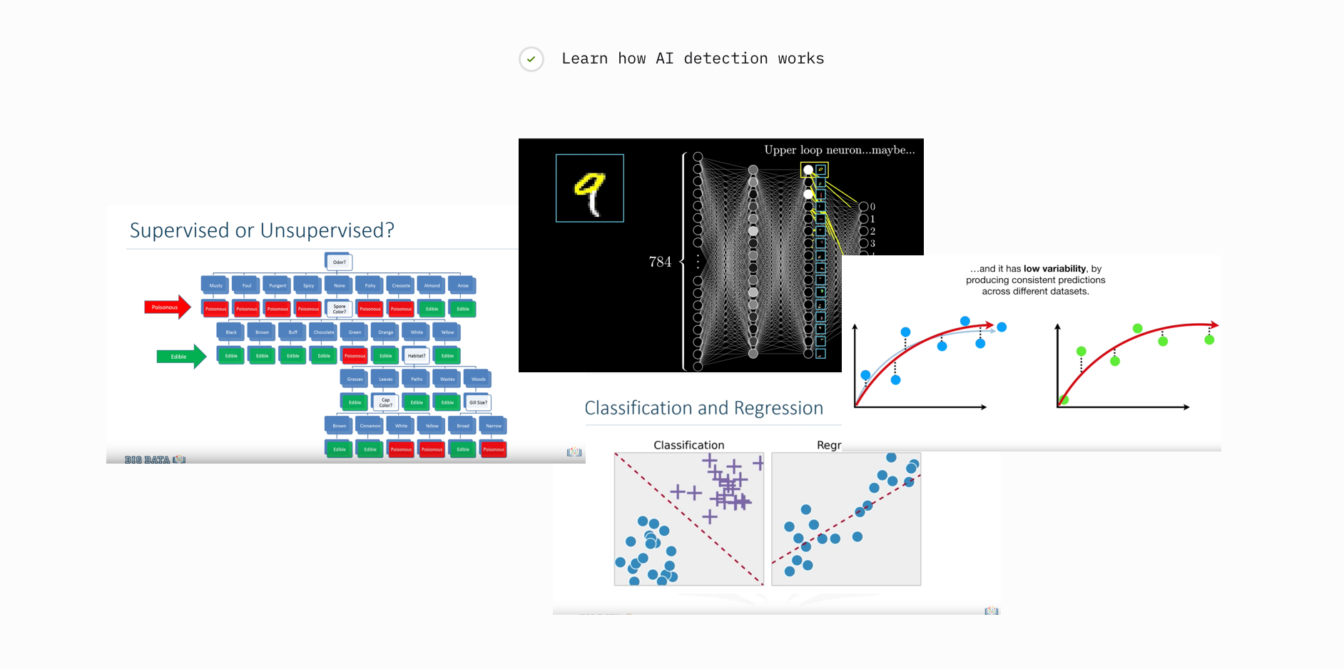 Learning about supervised/unsupervised machine learning, neural networks and classification.