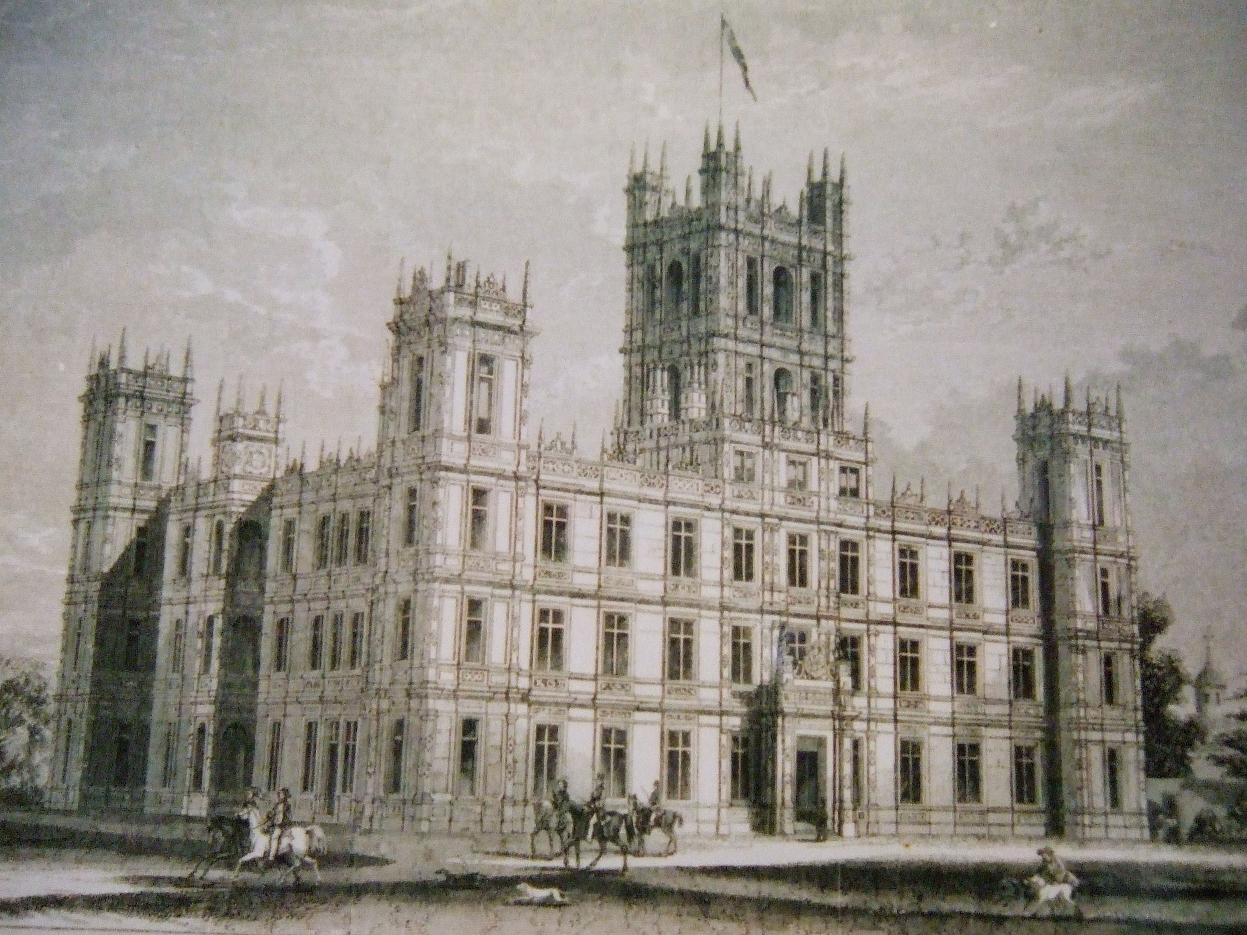 Downton Abbey revealed - The story of Highclere Castle