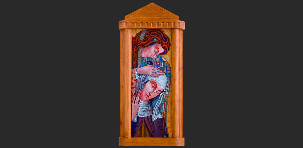 Angyali üdvözlet (15x40 cm)