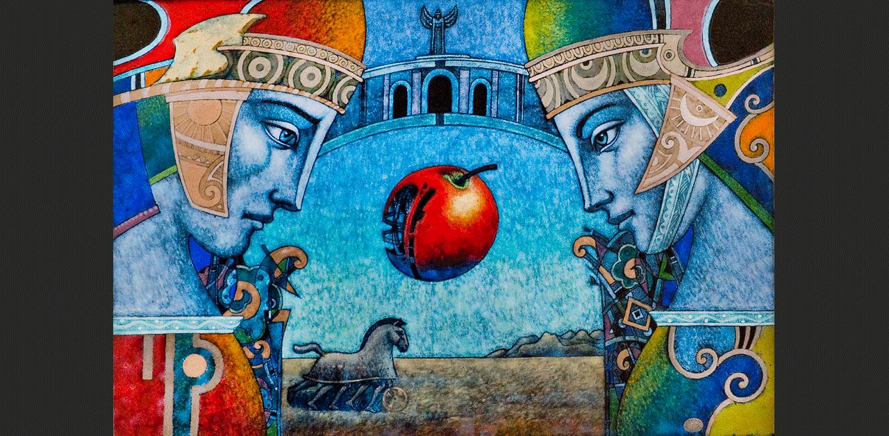 The Apple of Paris