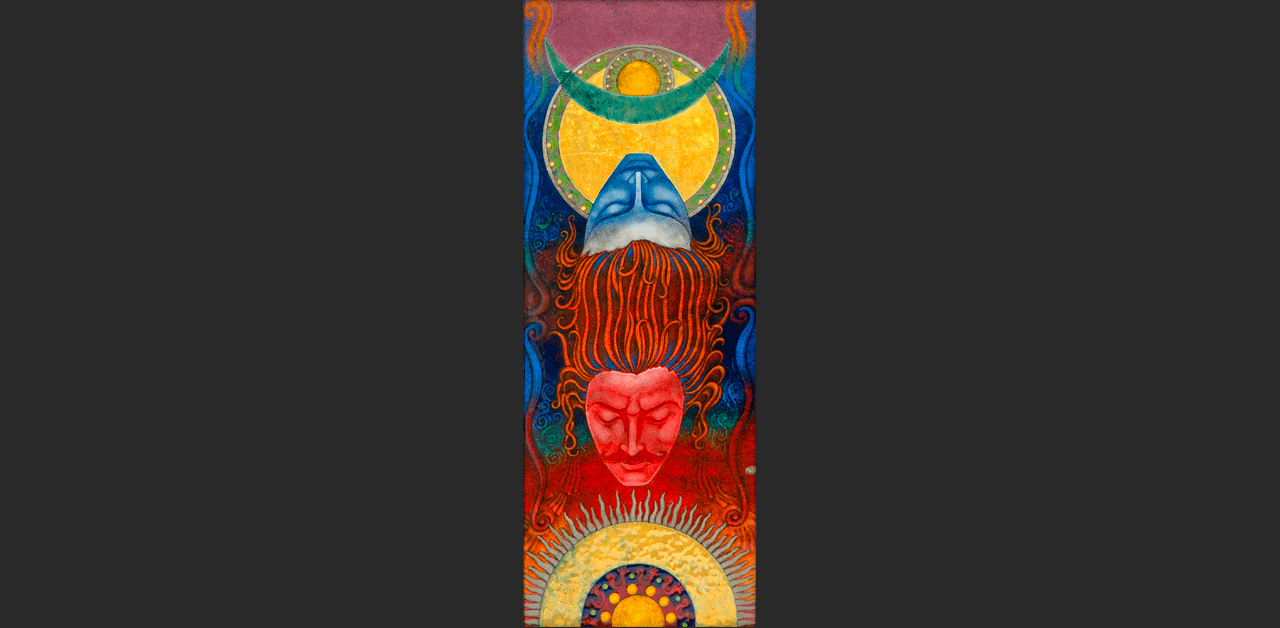 "Brother Sun, Sister Moon (5.5"" x 16.5"")"