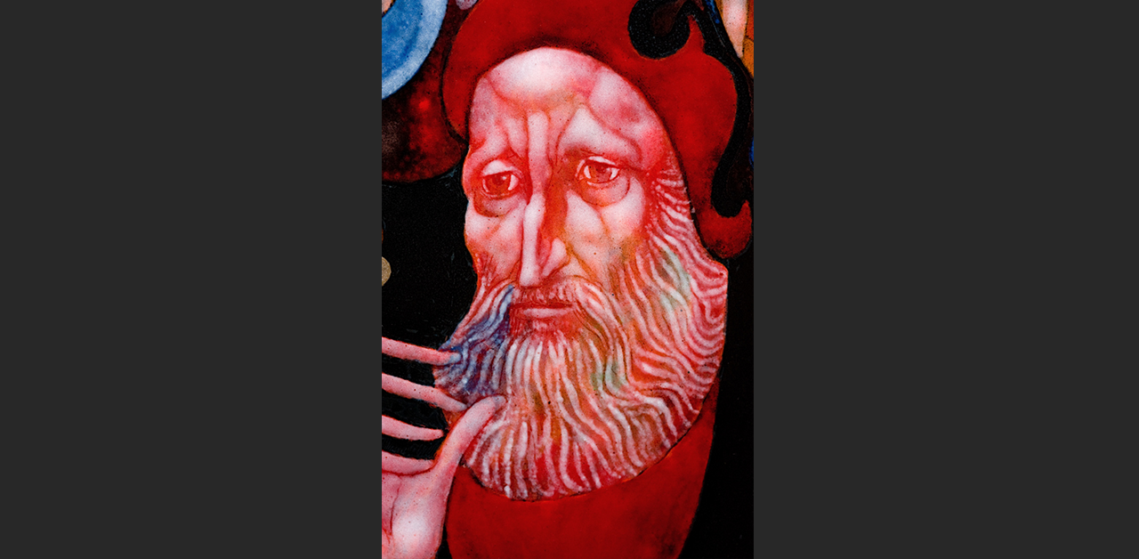 Merlin (detail #1)