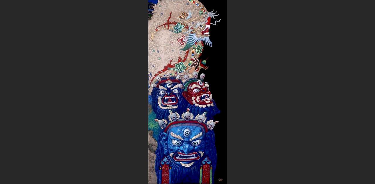 Tibet 2017 (21x42 cm)