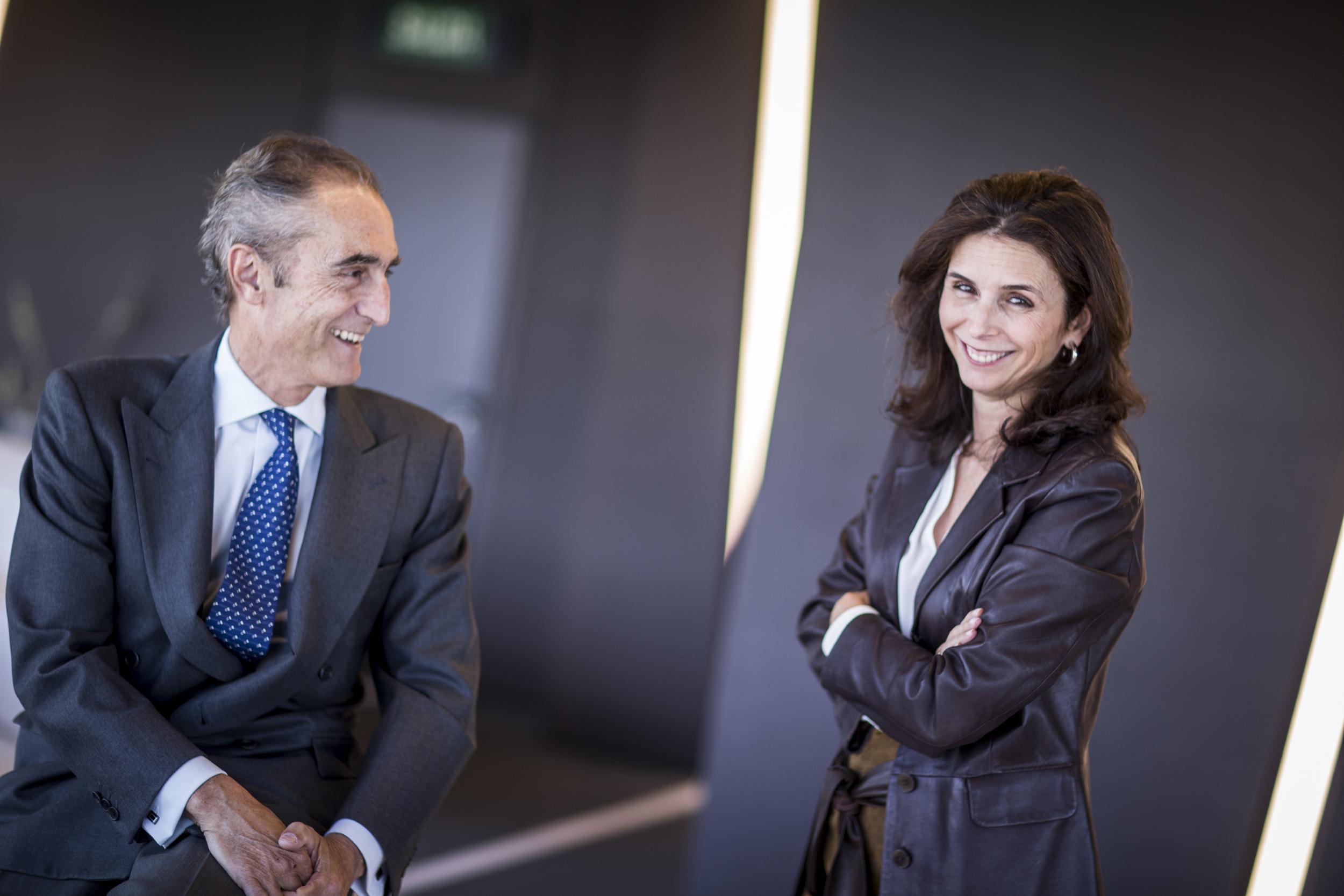 Salvador García-Atance y Patricia de Roda.