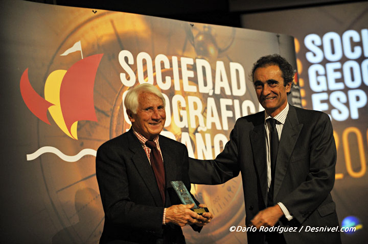 Walter Bonatti y Salvador García-Atance