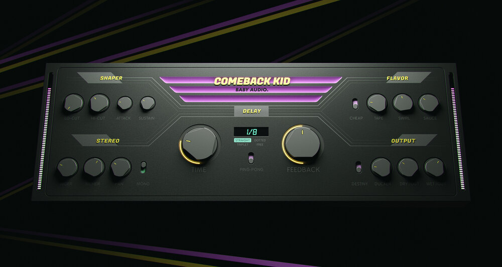 BABY Audio - Comeback Kid - 3D Render 02