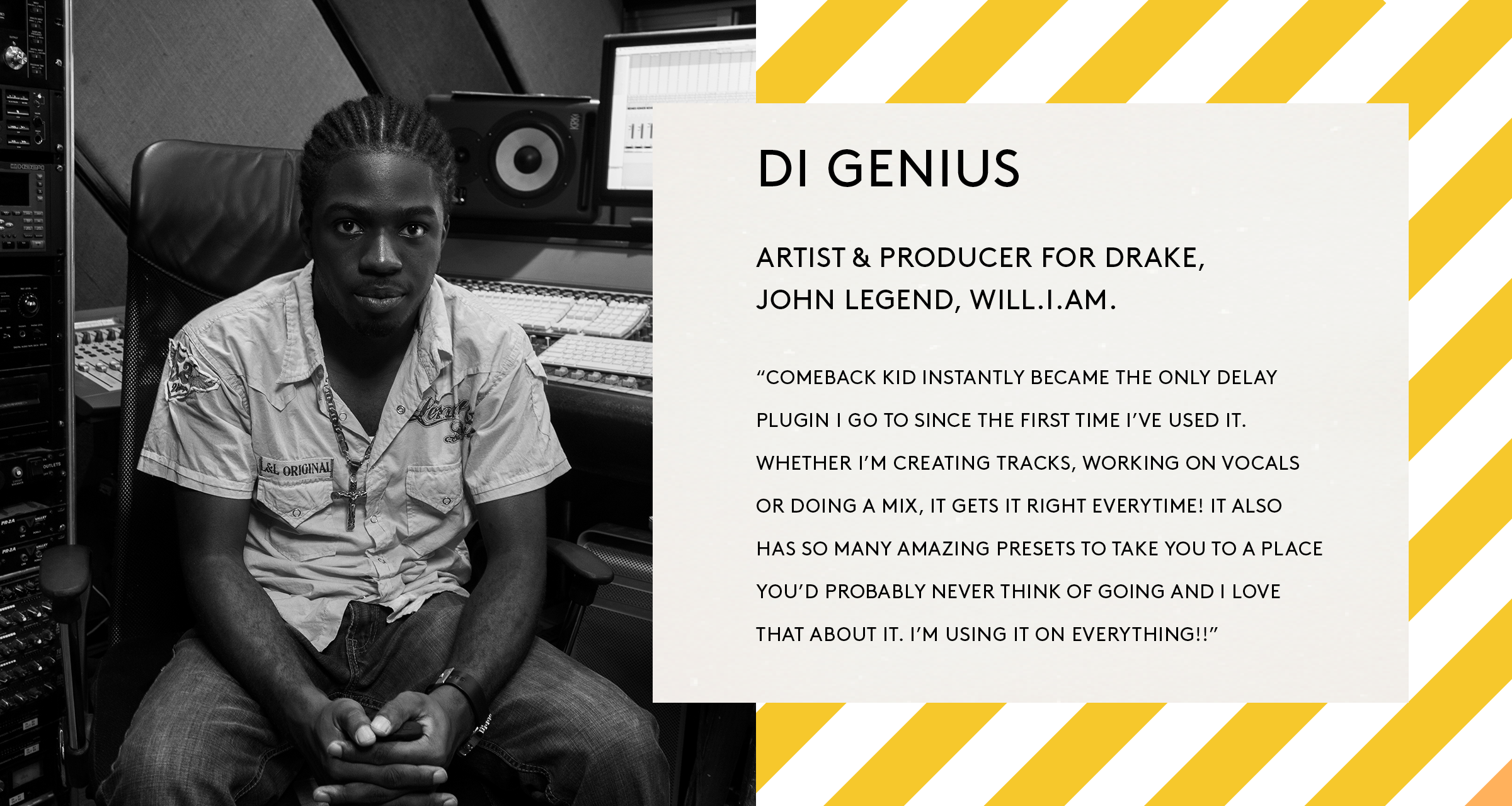 Di Genius BABY Audio Comeback Kid Quote.png