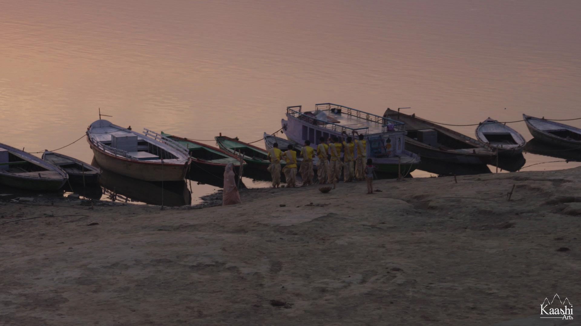 Assi Ghat - Benares, India.