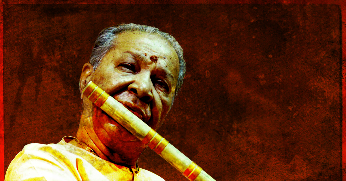 A rare evening with the king of the Bansuri  | Union Chapel, London | June 2017  Pandit Hariprasad Chaurasia ji needs no introduction as one of world's foremost artists. His career has spanned over 60 years and he has worked with greats such as Pandit Shivkumar Sharma ji (Santoor), Ustad Zakir Hussain ji (Tabla), The Beatles, Pandit Ravi Shankar ji (Sitar) and so many more.  A performer the world over, a dedicated guru (teacher) it was a truly special event for Kaashi Arts and an honour for us as an organisation. Pandit ji enthralled a packed Union Chapel audience with our Artistic Director, Pandit Sanju Sahai ji providing beautiful accompaniment on the tabla.  A memorable event with a truly remarkable artist.