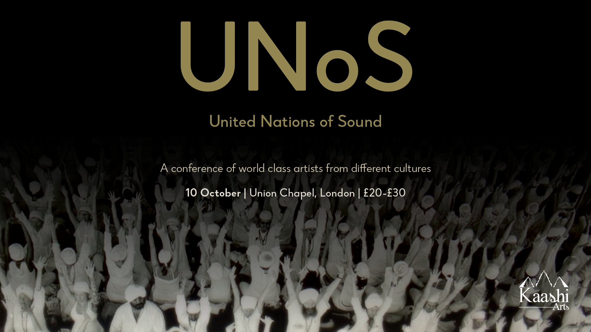 United Nations of Sound (UNoS)  | Union Chapel, London | October 2019  UNoS explores cultural interconnectedness; how we can all be united by music. Music binds us all. Music is present in our accents. Music is present in our language, our bodies; our very constitution is a bondage of vibrations. UNoS is a conference of musical differences. It is a discussion about humanity. These world class artists of varying backgrounds share a common ground. Mother earth and her mother tongue - Music.  Artists Nicki Wells (Vocal), Pandit Sanju Sahai (Tabla), Danny Keane (Cello), Beibei Wang (Multi Percussion), Loris Lombardo (Hang drum)