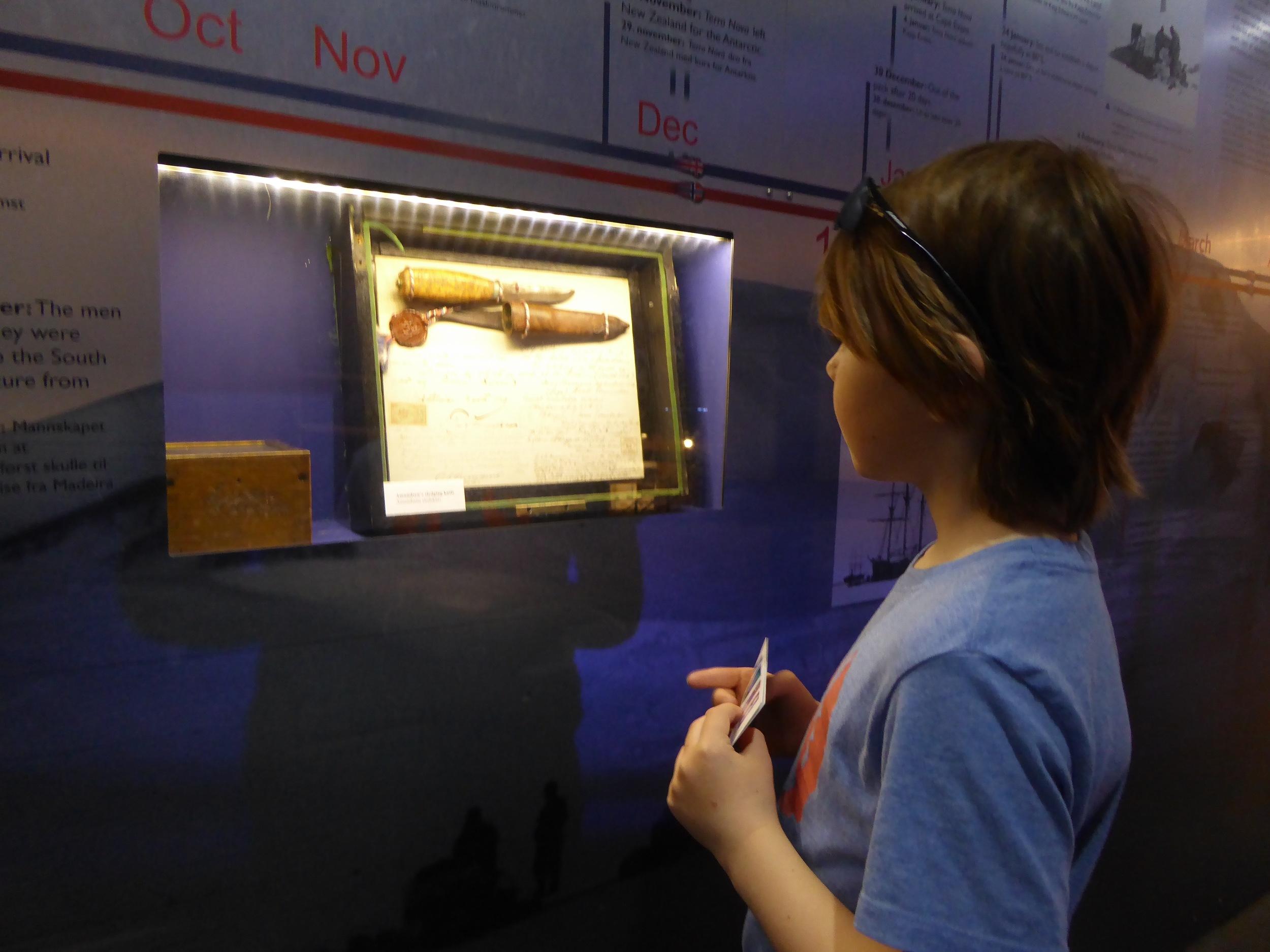 Amundsens sledekniv fra Sydpol-ekspedisjonen