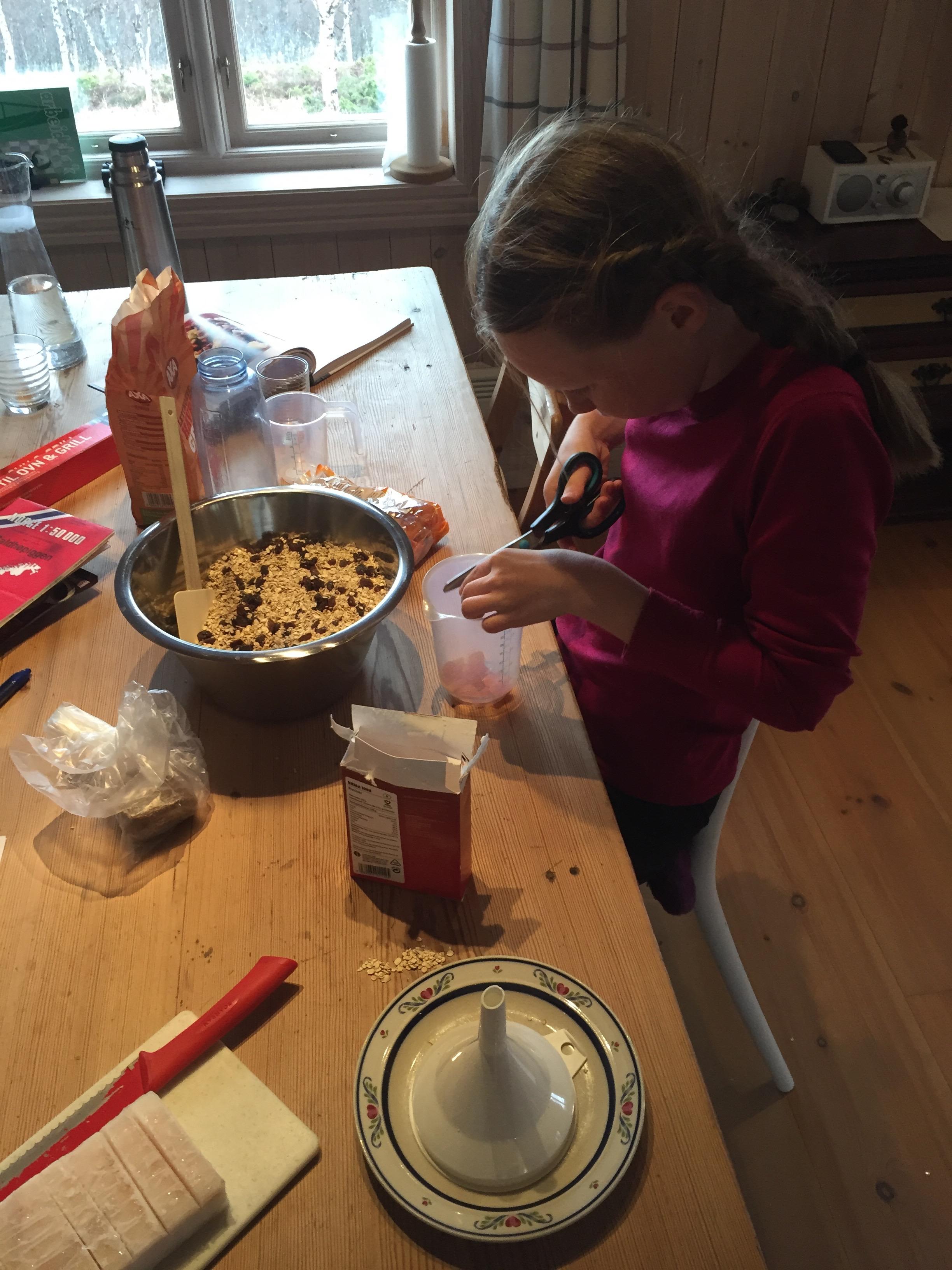 Vi lager frokostblanding