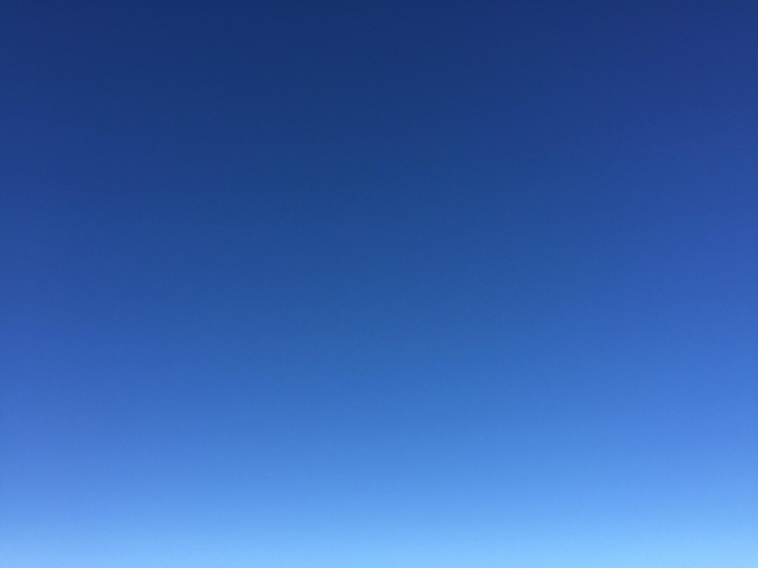 Blå himmel over Kutjønna, en dag i mars
