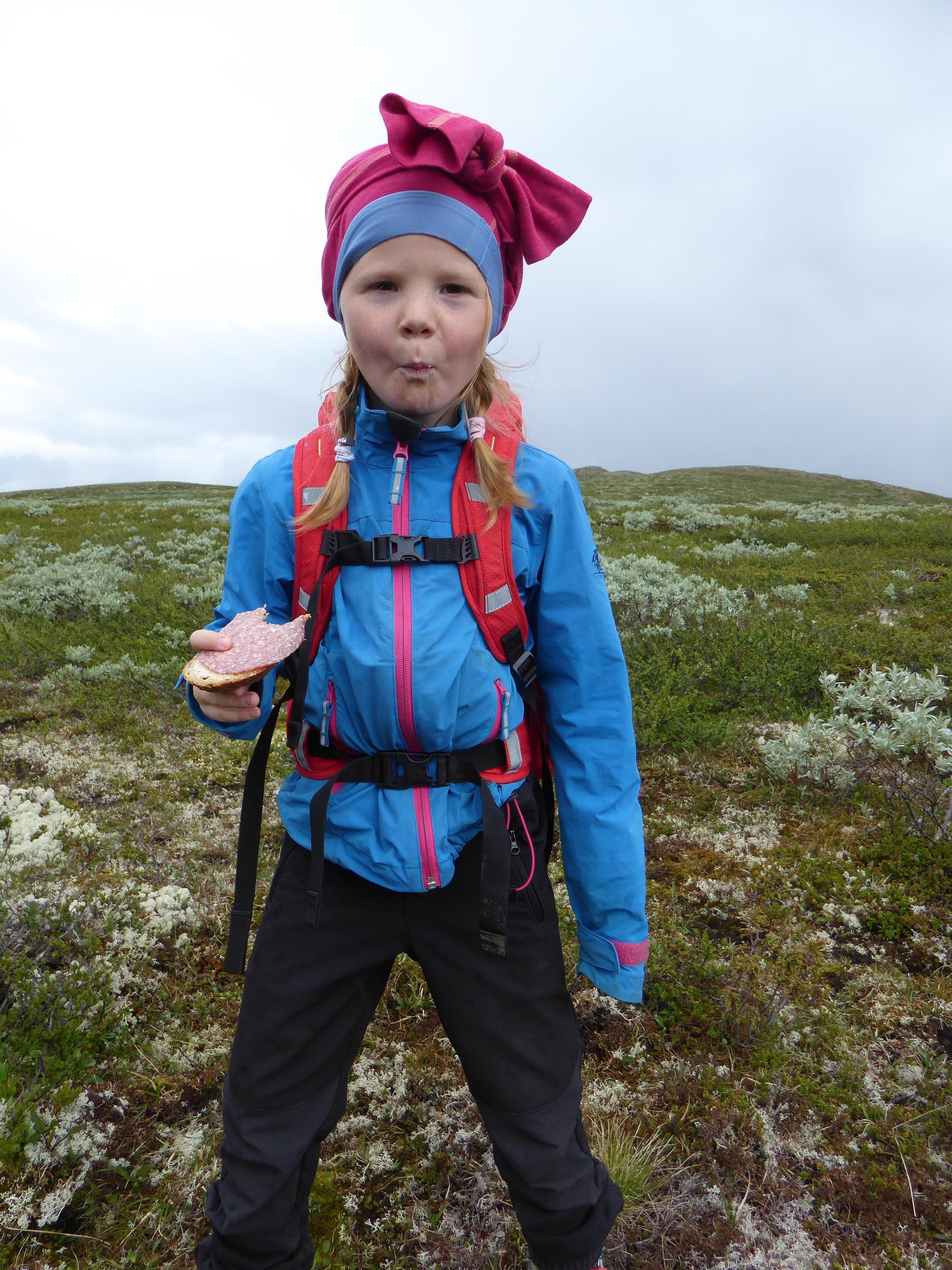 Når man glememr lue kan man ta stillongsen til hjelp #fjellvett