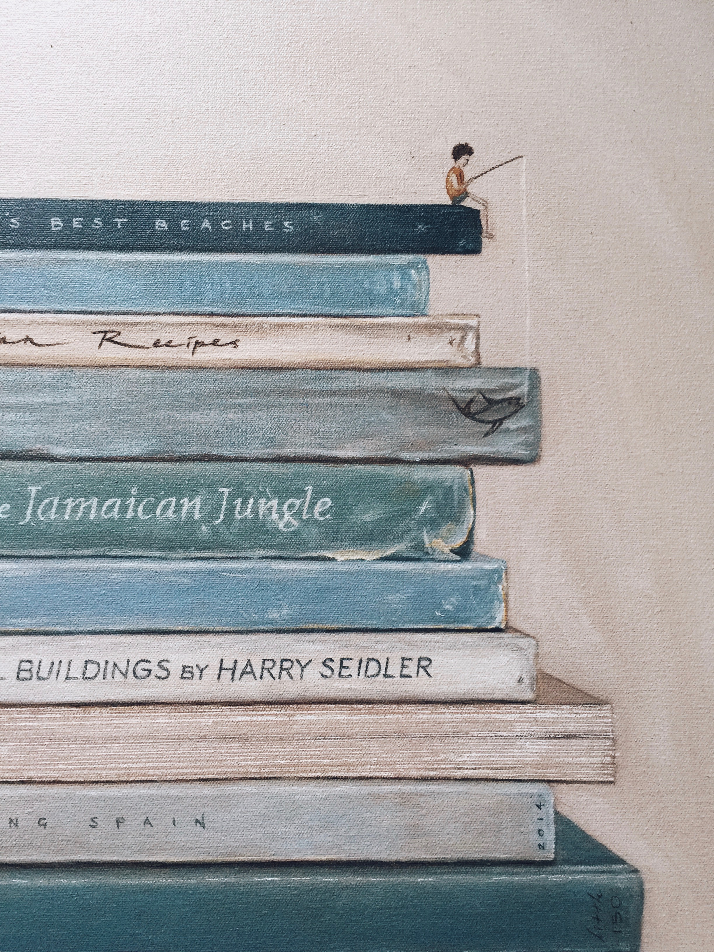 Camila's Book Painting