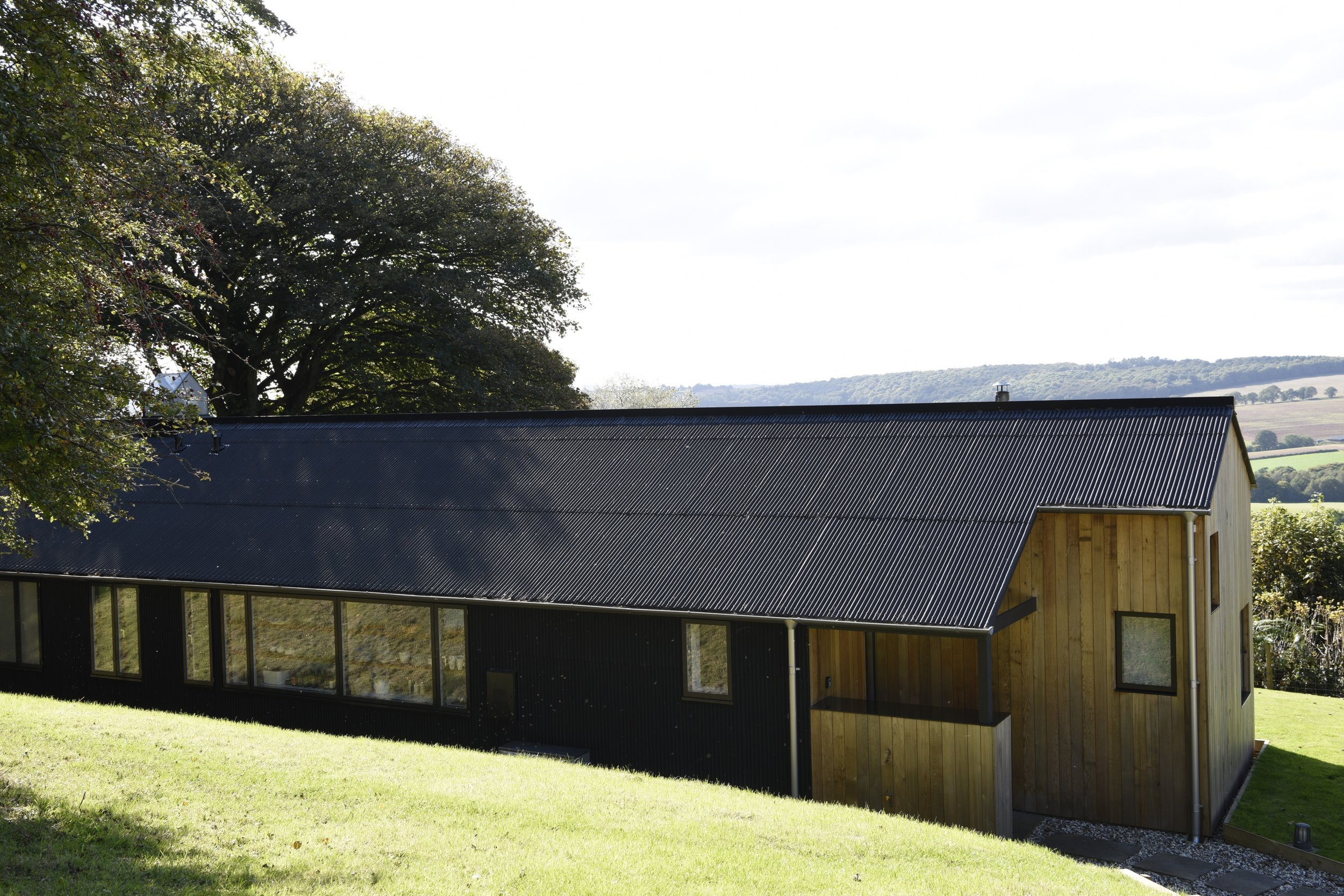 The Chickenshed aims to combine great architecture, clean design and wonderful views across the beautiful Monmouthshire countryside...