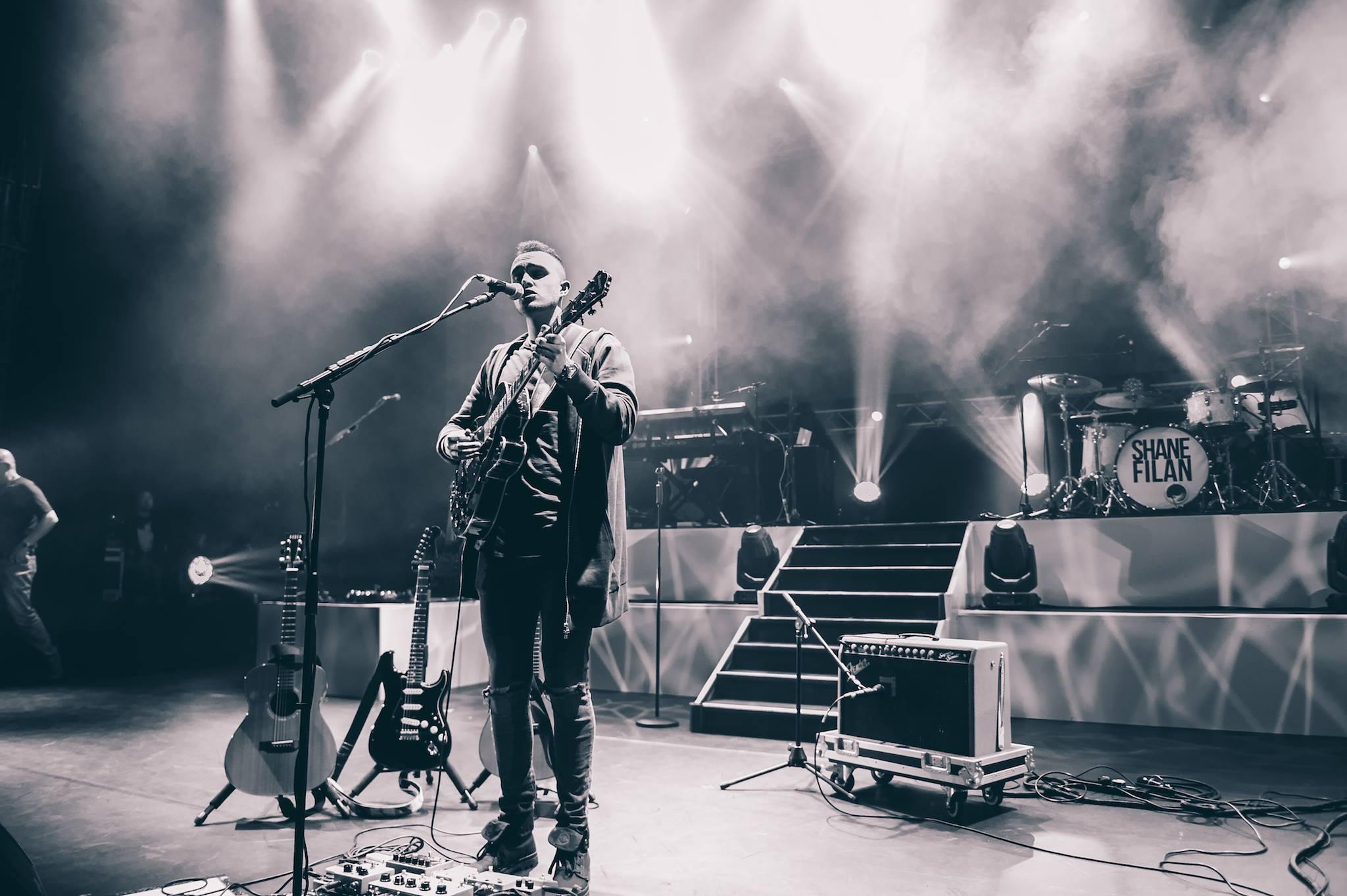 Joe Miles at The London Palladium. Photo by  Alex Rawson Photography