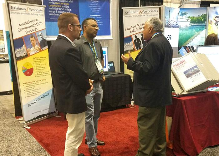 Krishnan & Associates, K&A, Power Gen International, Orlando, Florida, 2016, Consulting Firm
