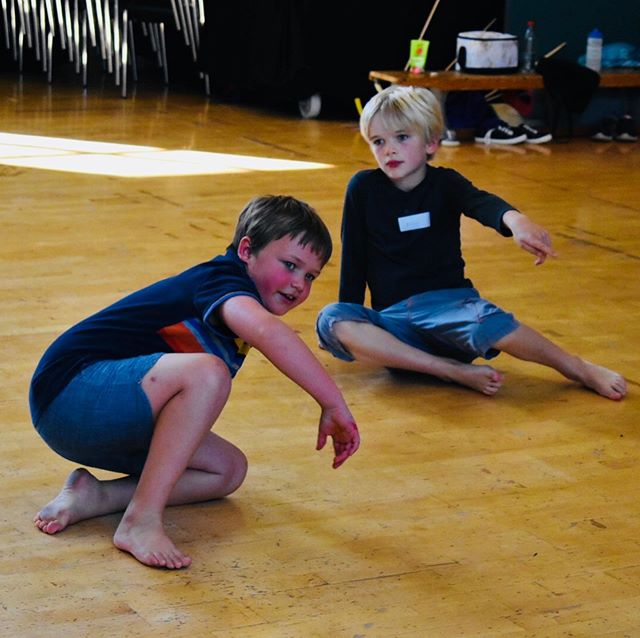 'Grease is the word....' . . Our 8-11's group got fully stuck into all things Grease today, trying out new moves, learning choreography and then getting creative making their own Rydell High t-shirts, brilliant! . . If you've got a young person who may want to join us for the rest of the week, send us a DM as it's not to late to do it! #creativelearning #greaseistheword #llandrindod #powys #dance #musicaltheatre