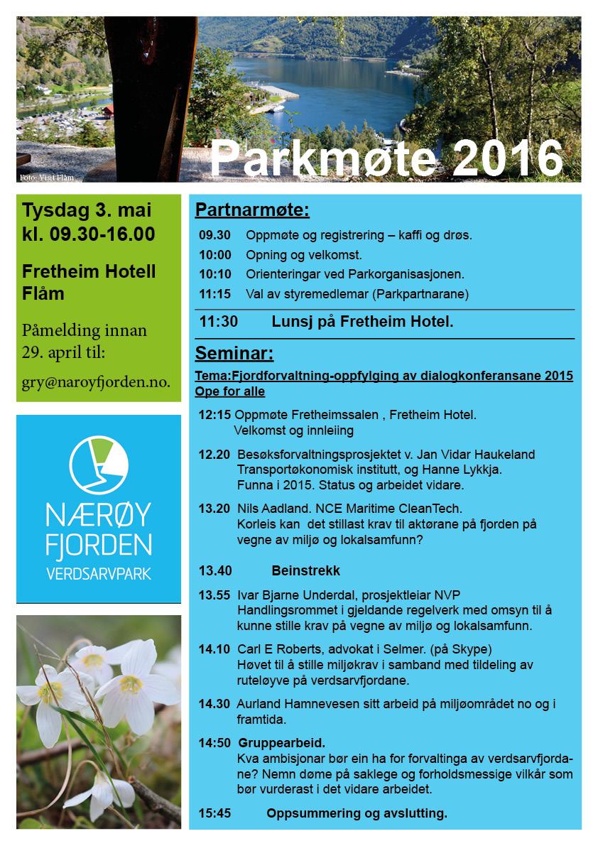 parkmøte 2016