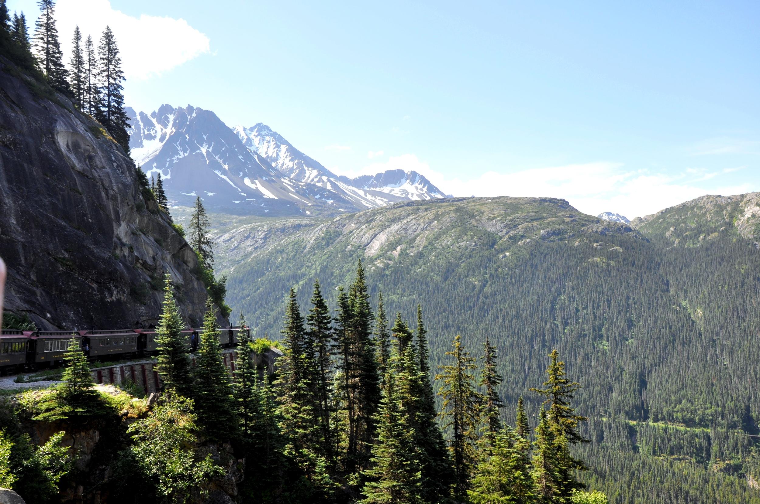 Togtur til White Pass